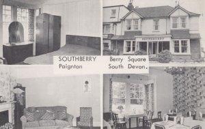 Southberry House Hotel Paignton Devon Vintage Postcard