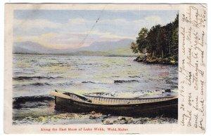 Weld, Maine, Along the East Shore of Lake Webb