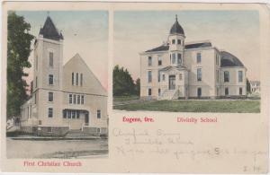 First Christian Church , Divinity School , EUGENE , Oregon , PU-00-10s