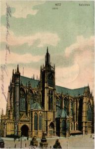 CPA AK METZ Kathedrale (393257)