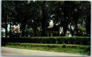 Rockford IL Postcard EKLUND'S SWEDEN HOUSE Smorgasbord Route 20 Roadside c1960s