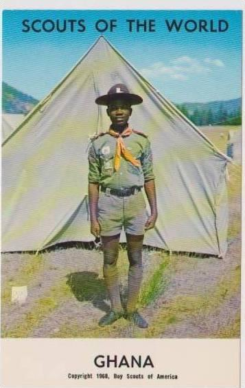 Boy Scouts of the World: #22 Ghana, 1968