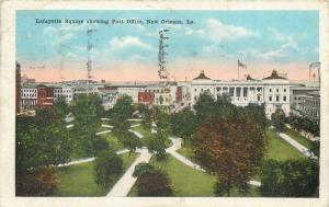 Lafayette Square showing Post Office New Orleans