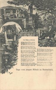 Germany Heisterbach Sage vom jungen Mönch zu Heisterbach 02.02