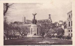 CANNES, Le Monument aux Morts, Alpes Maritimes, France, 10-20s