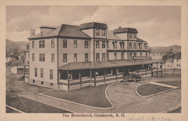 COLEBROOK , New Hampshire , 1910-20s ; The Monadnock