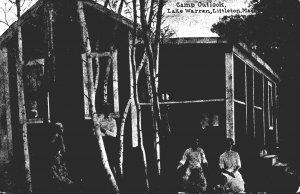 Massachusetts Littleton Lake Warren Camp Outlook