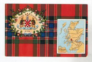 299  Scotland  Coat of Arms CRANBERRY