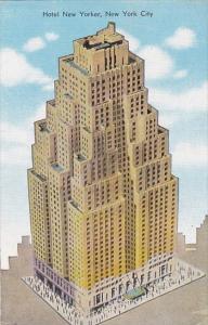 New York City Hotel New Yorker 1948