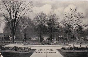 New York Rochester Fountain In Jones Park 1907