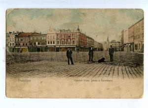 191074 Czech Republic PROSTEJOV Vintage postcard