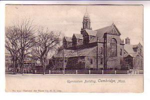 Gymnasium Building, Cambridge, Massachusetts, B&W  National Art Views Co 652