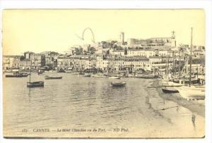Le Mont Chevalier Vu Du Port, Cannes (Alpes Maritimes), France, 1900-1910s