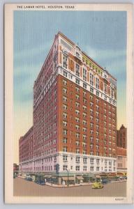 Houston, Texas, The Lamar Hotel - 1938