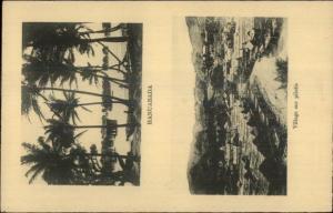 Hanuabada Oceania Split View c1910 Postcard rpx