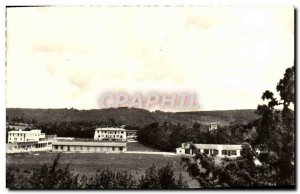 Old Postcard From Aerium Dabeaux School-Outdoor