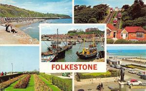 Folkestone, The Harvey Monument The Leas The Sands The Lfits