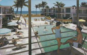 Swimming Pool, Sea Breeze Hotel and Villas,  Palm Beach,   Florida,  PU_1960