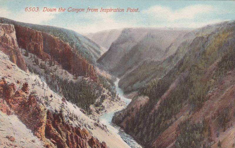 Looking down the Canyon from Inspiration Point,Canada,00-10s