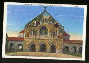 Stanford Memorial Chapel, Palo Alto, CA - Unused - Slight Wear