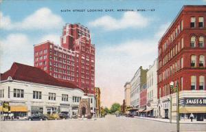 Mississippi Meridian Sixth Street Looking East