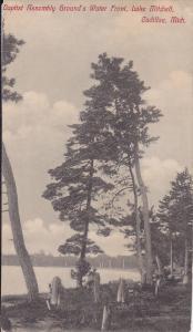Baptist Assembley Ground's Water Front , Lake Mitchell , CADILLAC , Michigan ...