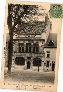 CPA BEAUGENCY - Hotel de Ville (270606)