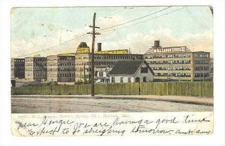 W.L. Douglas Shoe Company, Brockton, MA, pre-1907