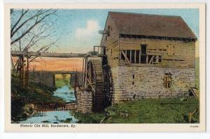 Old Mill, Bardstown KY