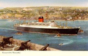 Cunard Line - RMS  Carinthia    Artist: Turner