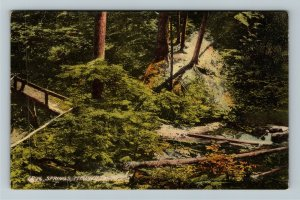 Titusville PA-Pennsylvania, Iron Springs, Vintage Postcard