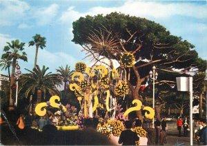 Postcard Nice Bataille de fleurs