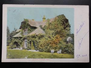 London: Richmond, Queen's Cottage at Kew, UB c1903 ( French stamp)