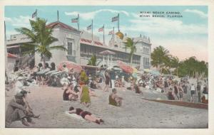 MIAMI BEACH, Florida , 1910-30s ; Casino