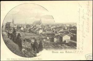 germany, GUBEN, Gruss aus, Panorama (1899)