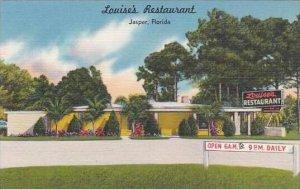 Florida Jasper Louises Restaurant
