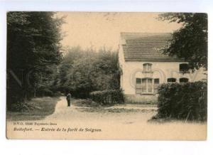 173194 BELGIUM BOITSFORT Entree de la foret de Soigne Vintage
