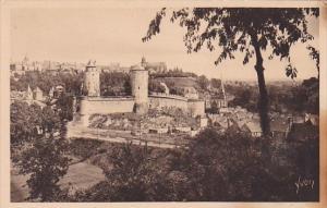 Fraance Fougeres La Ville haute et le Chateau