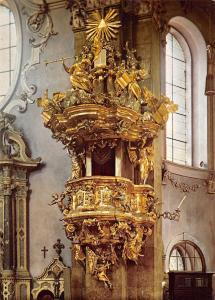 Innsbruck Dom zu St Jakob Die Kanzel Cathedral