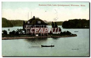 Rostrevor Old Postcard Club Lake Quinsigamond Worcester Mass