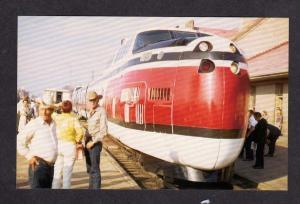 MT UA Turbo Railroad Train BILLINGS MONTANA Postcard RR PC Carte Postale