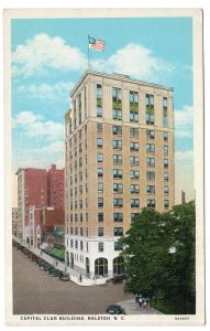Raleigh, S.C., Capitol Club Building