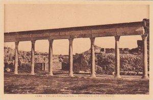 Tunisia Thuburbo-Majus Portique des Petronii