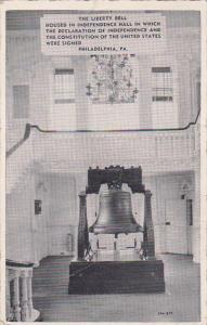 Liberty Bell, Independence Hall, Philadelphia, Pennsylvania, 10-20s