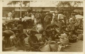indonesia, SUMATRA, Native Batak Women at the Market (1920s) Meijsters RPPC