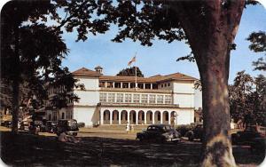 Panama Old Vintage Antique Post Card Balboa Elementary School Balboa Prado Ta...