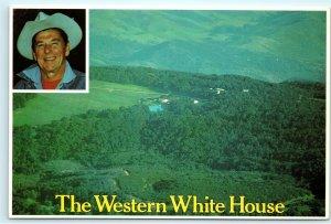 Rancho Del Cielo Santa Ynez Valley Santa Barbara Ronald Reagan Home Postcard B51