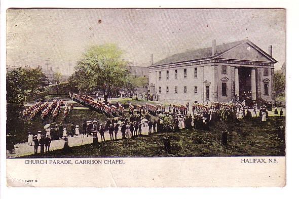 Military Parade, Garrison Chapel Halifax Nova Scotia Warwick, Lower Northfiel...