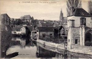 Vue Prise De La Courtille, Chartres (Eure Et Loir), France, 1900-1910s