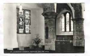 RP: Napton-on-the-Hill, England, 30-50s ; Interior of St Lawrence Church
